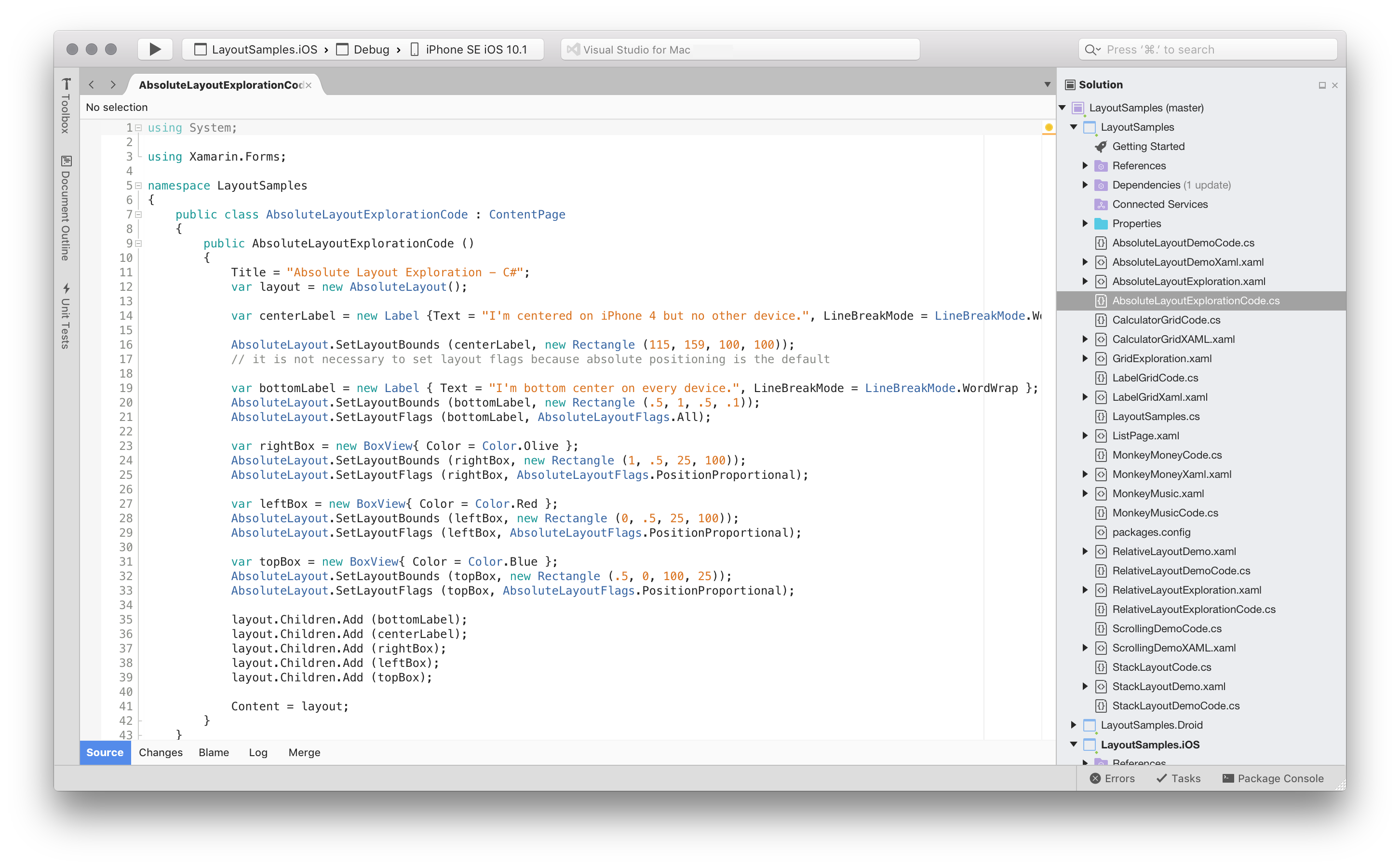 Visual Studio for Mac Tour - Visual Studio 2017 for Mac   Microsoft Docs   Application android. Android project. App development