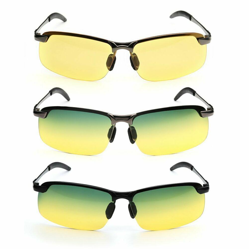 HD Night Vision Polarized Glasses UV400 Driving Sunglasses Eyewear Hot AE
