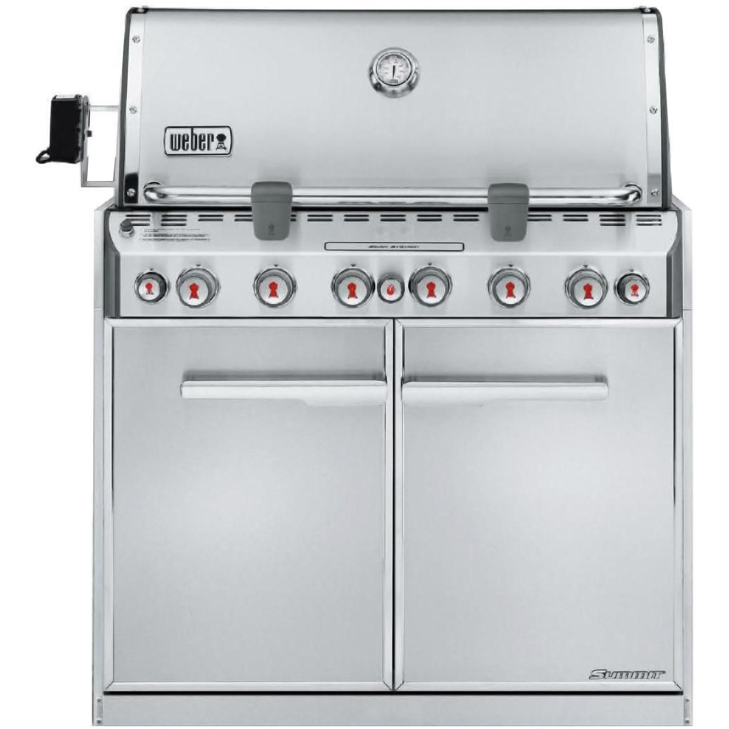 Summit Series Gas Bbq Grills Are The Crown Jewels Of The Weber Family With Exclusive Features The Highest Lev Natural Gas Grill Gas Grill Built In Gas Grills
