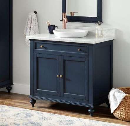 68+ trendy bath room vanity navy | blue bathroom vanity