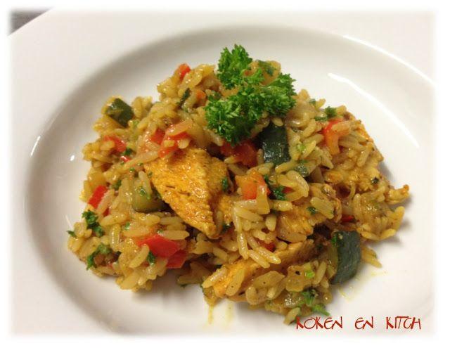 Koken en Kitch: Snelle paella op zijn Mexicaans