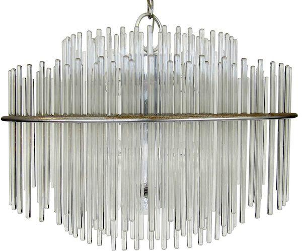 Moderne Glass Chandelier