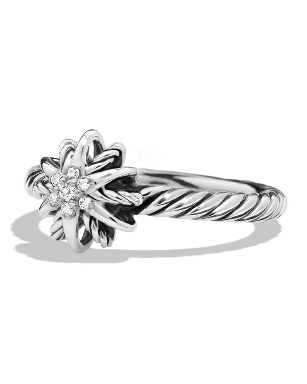 David Yurman Starburst Ring with Diamonds in 2020 David