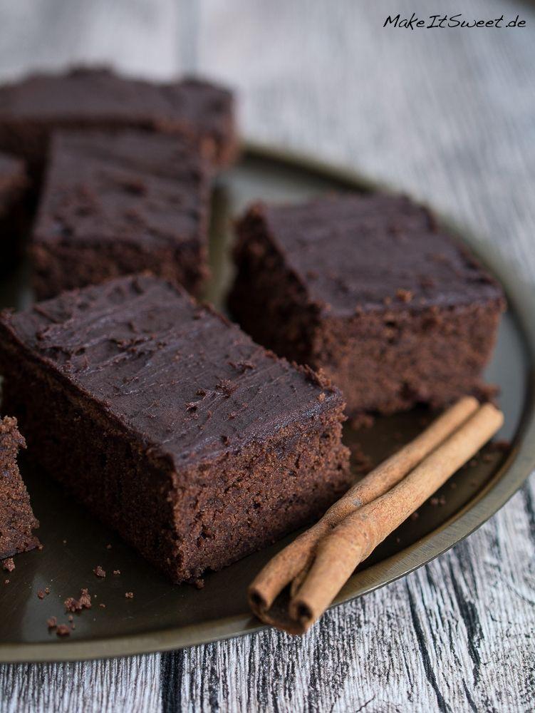 Schoko-Zimt-Brownies Rezept - MakeItSweet.de