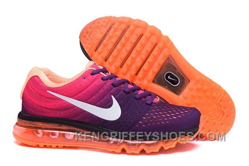 Authentic Nike Air Max 2017 Purple Pink Orange Top Deals