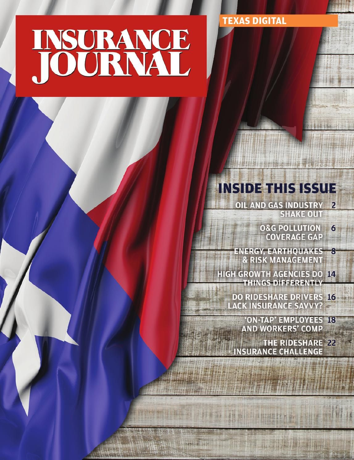 Insurance Journal The 2015 Texas Issue Insurance