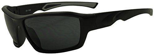 Sunglass Stop Wrap Around Dark Black Sports UV400 Sunglasses | eBay