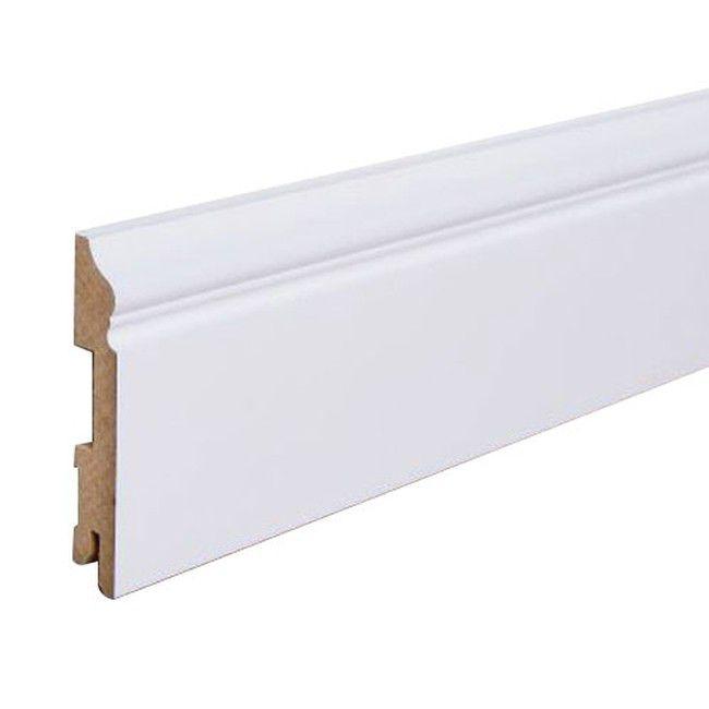 Listwa Przypodlogowa Mdf Foge Lb3 100 Bialy Polmat 200 X 10 X 1 6 Cm Listwy Przypodlogowe Home Decor Storage Decor