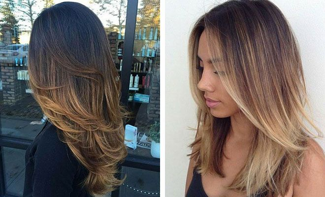 41 hottest balayage hair color ideas for 2016 copper balayage dark base caramel highlights its a modern twist on boho but this dark solutioingenieria Image collections