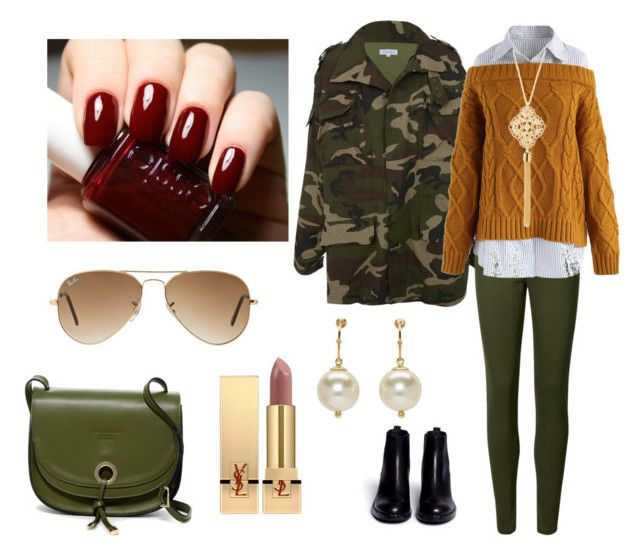 """""""Lunes Web"""" by milena-lister-quevedo on Polyvore featuring moda, Chicwish, Ash, Persaman New York, Kim Rogers, Ray-Ban, Yves Saint Laurent y Simone Rocha"""