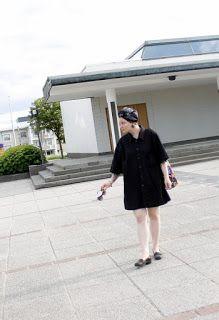 Martje. Men's xxxl shirt as black little dress