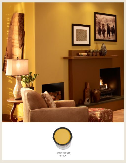 Ed Mustard Wall Paint Colour