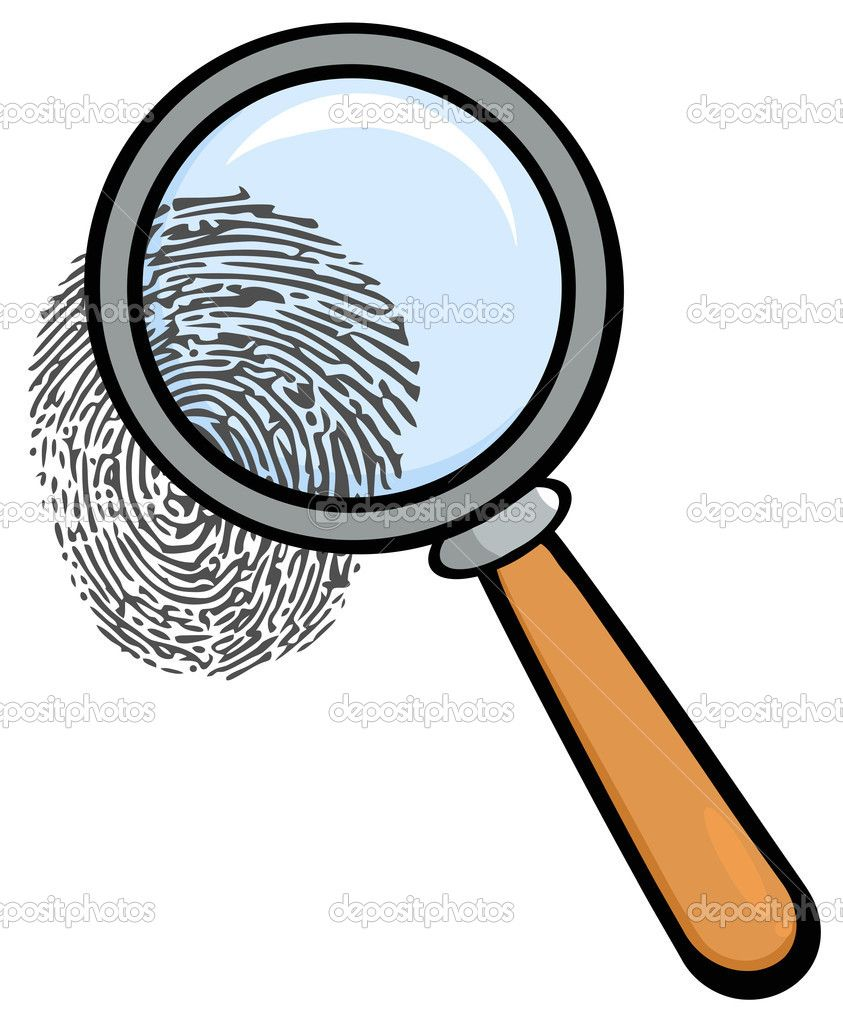Depositphotos 9323273 Magnifying Glass With Fingerprint Jpg 843 1023 Free Clip Art Magnifying Glass Glass
