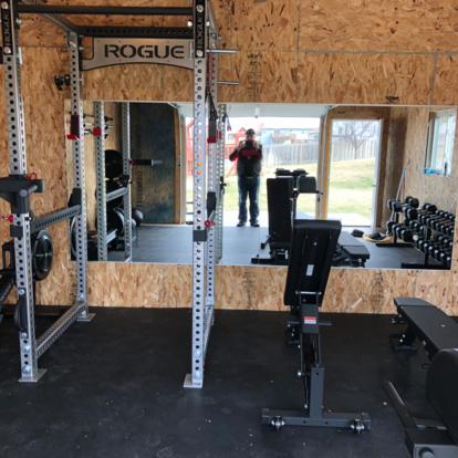 home gym design homegym in 2020  garage gym gym shed