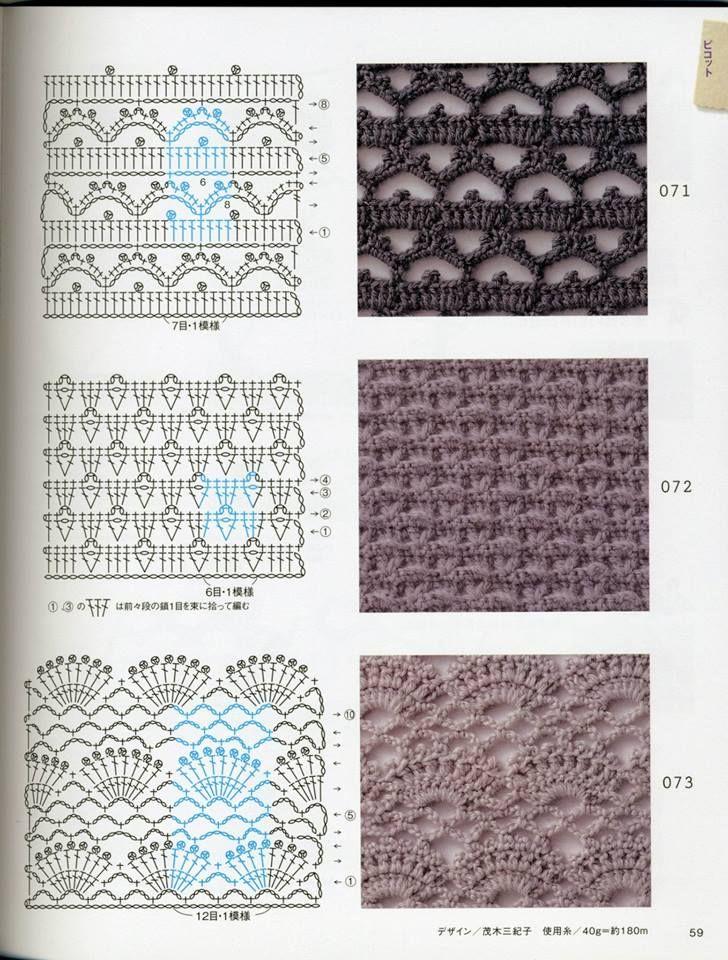 Pin de Shelly Long en Crochet - Stitches   Pinterest