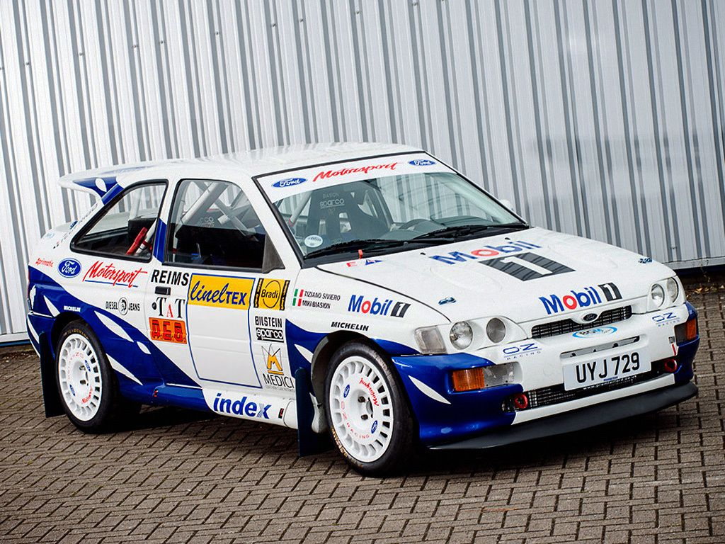 ford rally anni 80