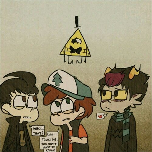 Whats up with me being attracted to nerd characters like these three !?? XD                Invader Zim, Homestuck, Gravity Falls, Dib, Eridan, Dipper, Bill Cipher, Crossovers, FanDOOMstuck