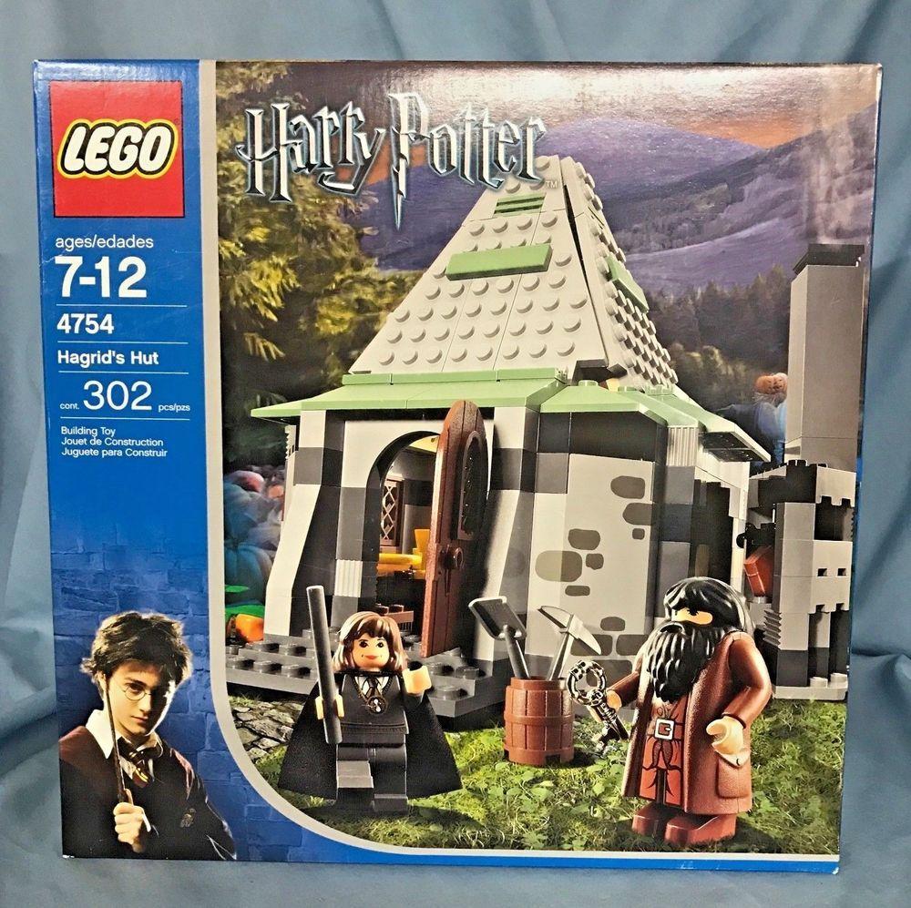 Lego Harry Potter 4754 Hagrid S Hut 2nd Edition 100 Complete Harry Potter Lego Sets Lego Harry Potter Lego