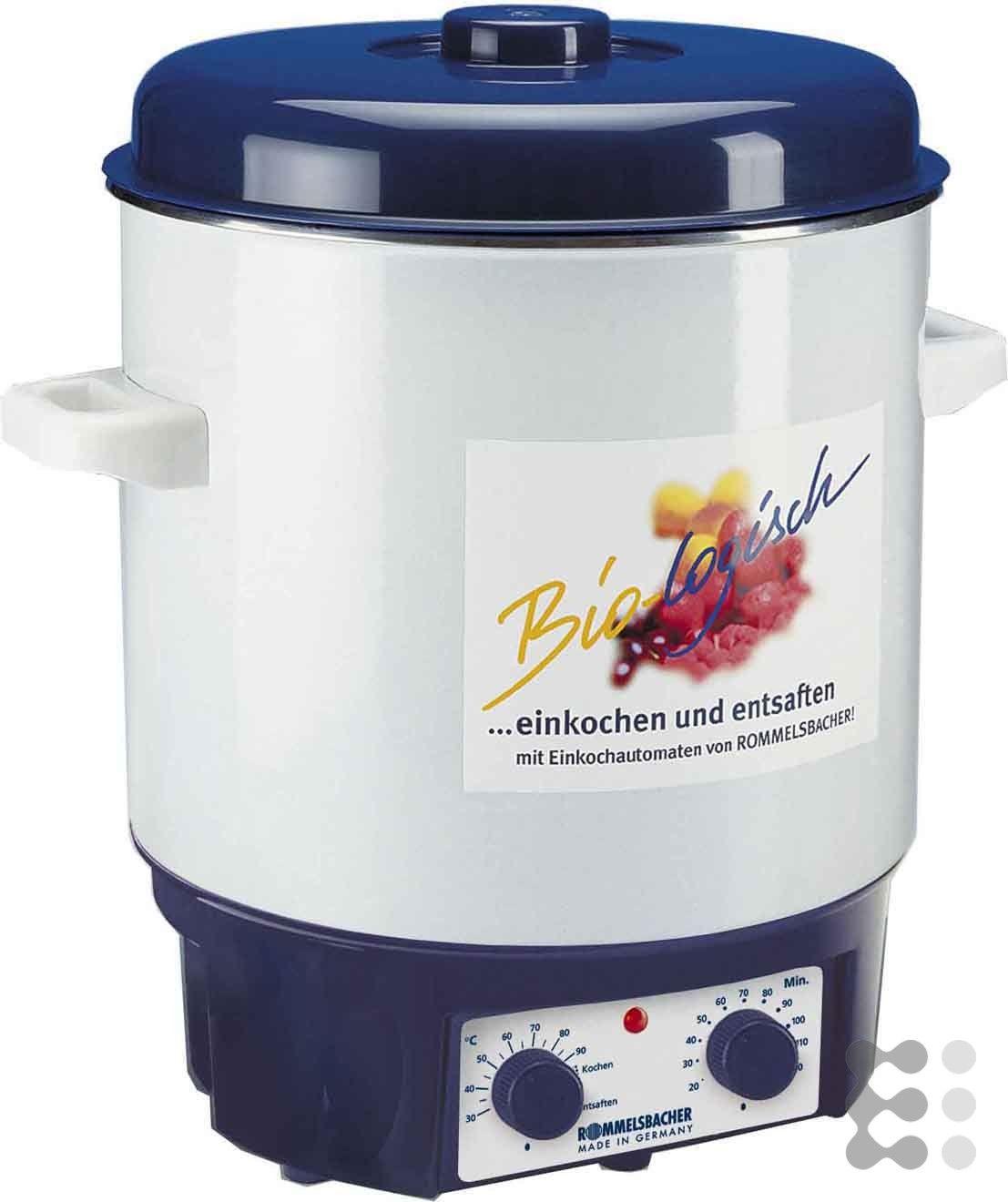 Küchendesign rot und silber rommelsba einkochautomat  küchengeräte  pinterest  mixer und