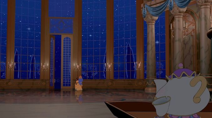 Sings One of The Most Romantic Songs Ever - Belle and Beast were already primed for falling in love. But add in a Mrs. Potts solo? Game over.