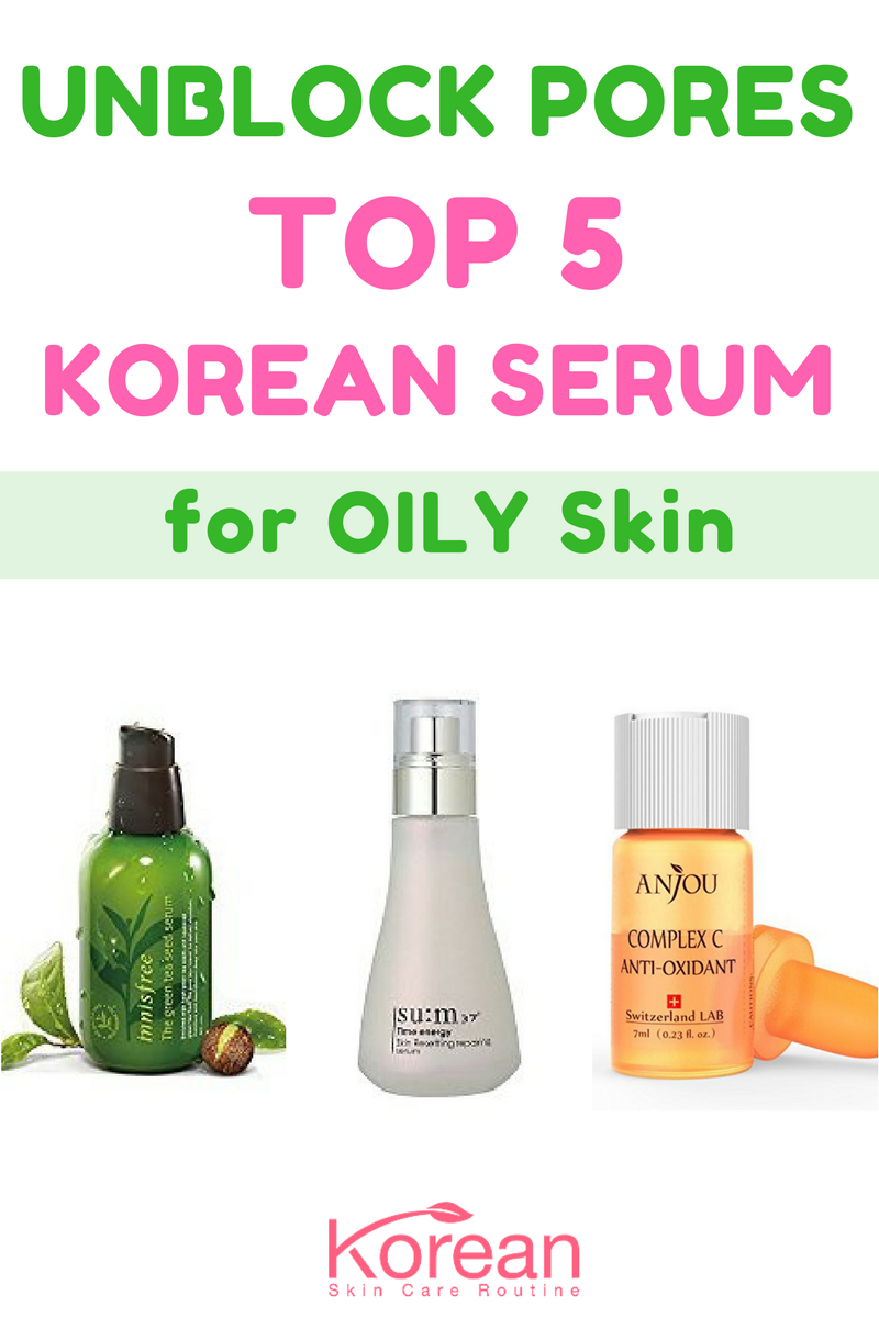 Best Korean Serum For Oily Skin 2020 Top 5 Picks Oily Skin Care Routine Oily Skin Care Oily Skin