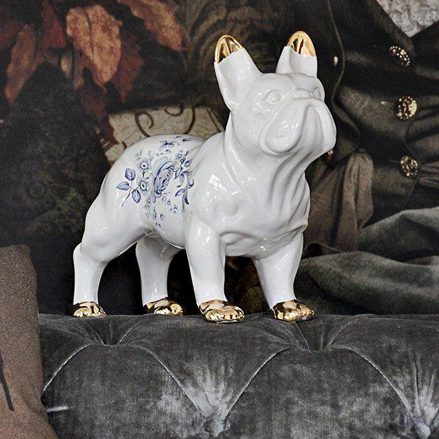 Delf Ceramic Bulldog 310 Bulldog Decor French Bulldog Decor Ceramics