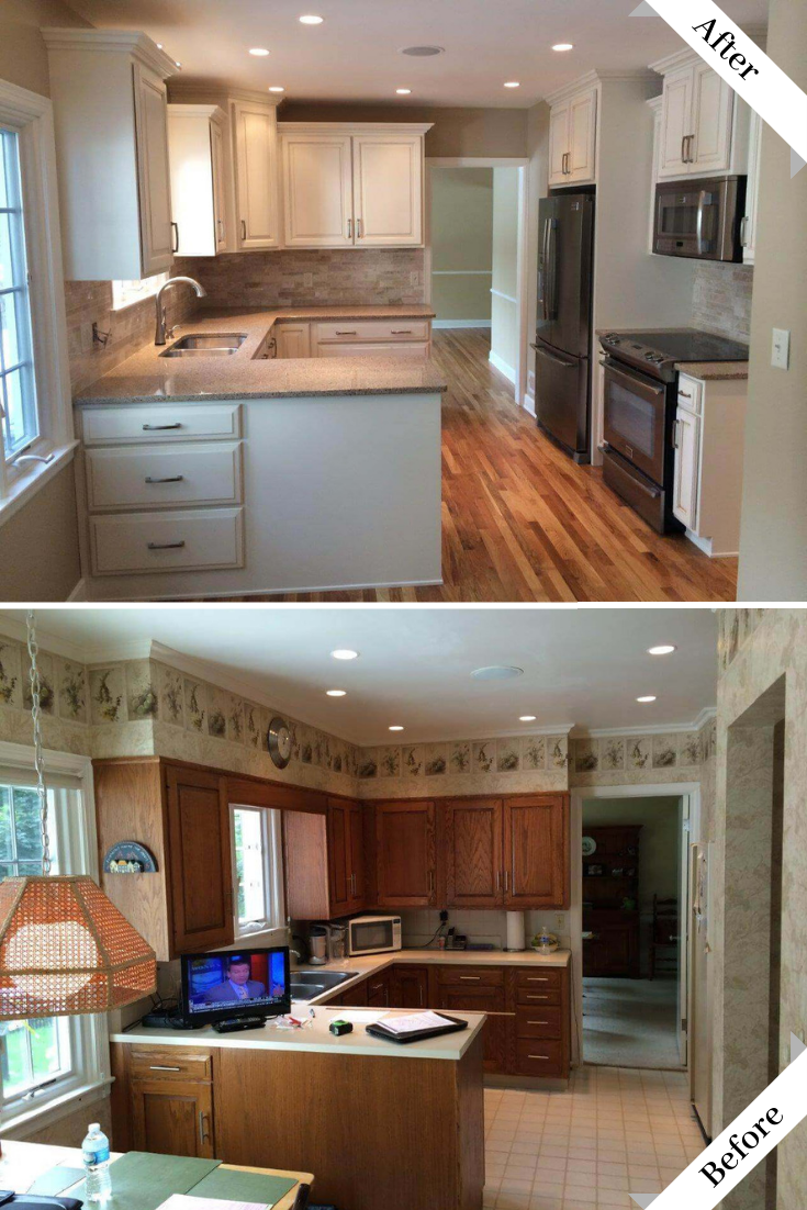 Pin By Cherrytree Kitchens On The 37 Best Before After Kitchen