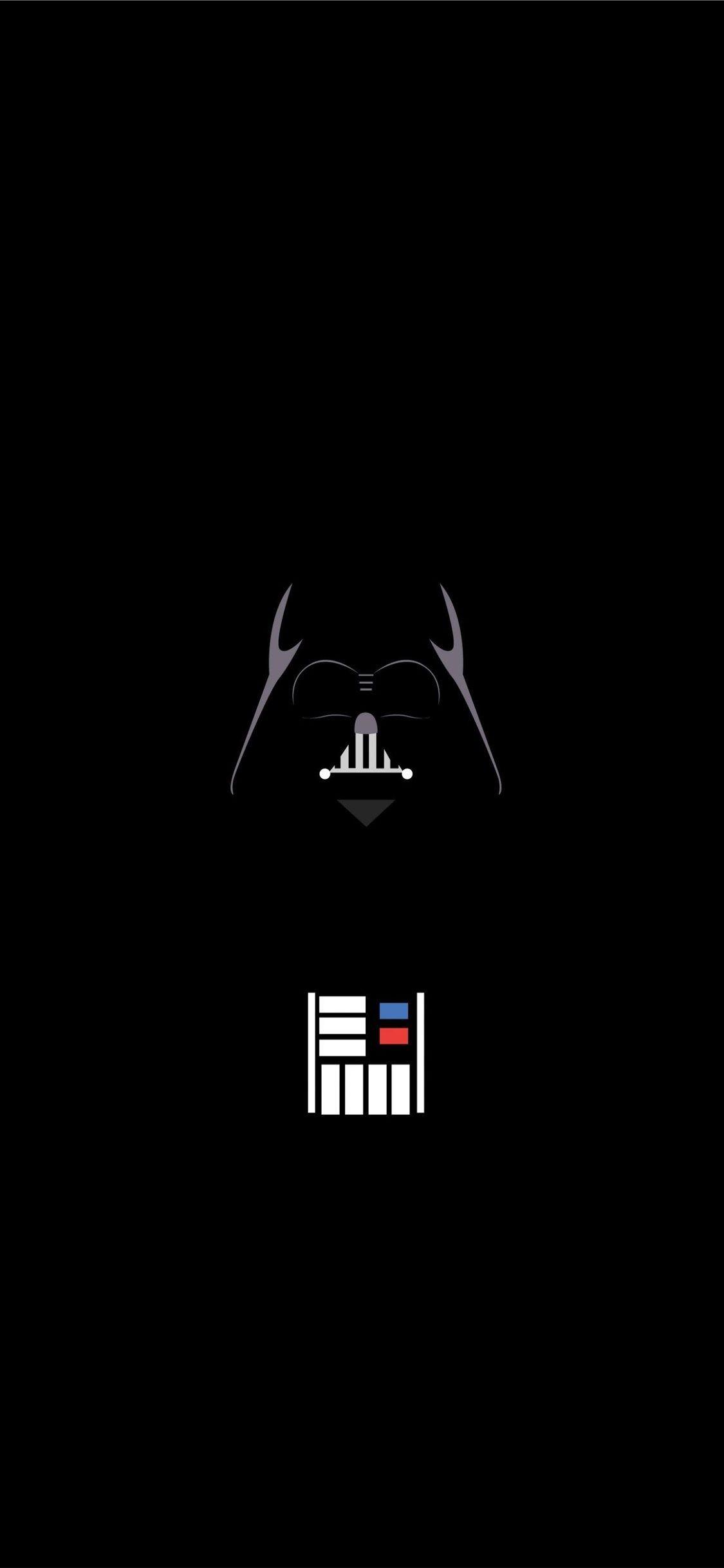 Vader Minimalist Minimalist Star Wars Trends In 2020 Star Wars Wallpaper Minimalist Iphone Wallpaper