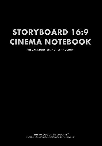 Storyboard 169 Cinema Notebook Visual Storytelling Technology by - visual storyboard