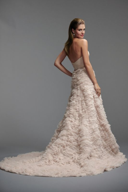Watters - Spring 2014 Bridal Collection - Davia Wedding Dress ...
