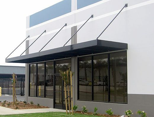 Metal Cable Awning Houston Texas Metal Rod Cable Awning