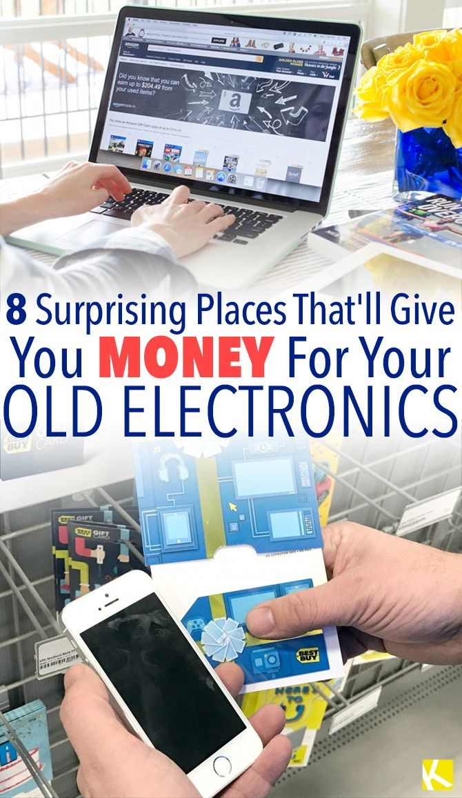 Got Old Or Unused Electronics Lying Around There Are Lots Of Diffe Ways To Get Cash Gift Cards For Your Used We Compared The Trade In
