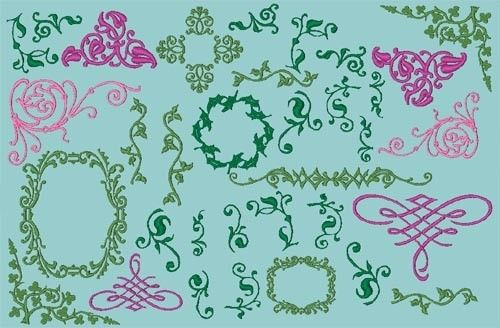 Download ENGLISH IVY MONOGRAM\/FONT EMBROIDERY DESIGN PACK HAS 207 ...