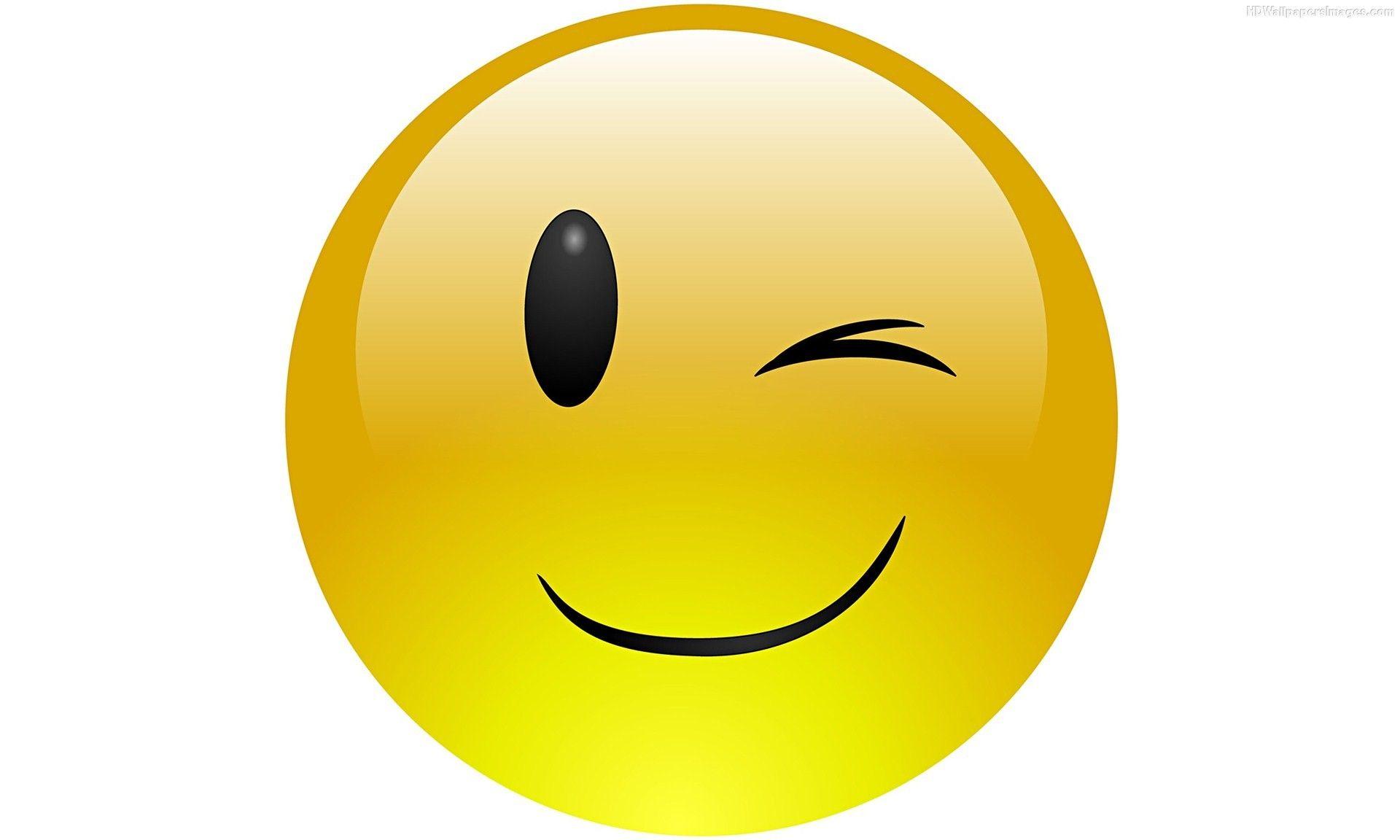 Emoji-Face-Wink-Yellow-Images - Bite Edge | Headshot Logo ...