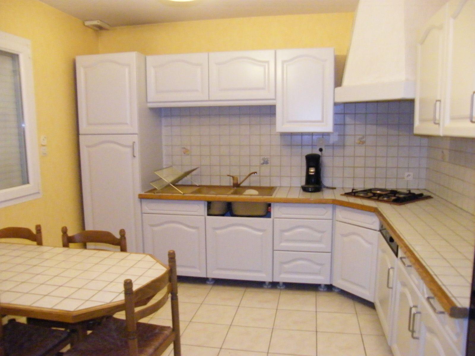 Rénover une cuisine : comment repeindre une cuisine en chêne #homestagingavantapres