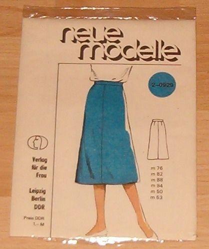 Neue Modelle 2-0929 Schnittmuster von Anfang 80er Jahre schmalen ...