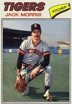 1977 Topps Baseball Cards Updated: 1977 Detroit Tigers