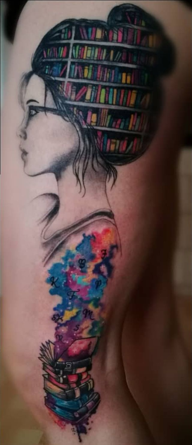 Awe Inspiring Book Tattoos For Literature Lovers Tatts
