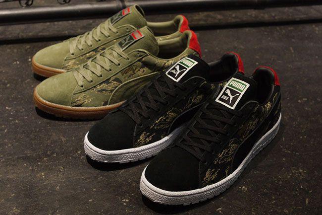 "premium selection 2cc10 cc90b SBTG x Mita Sneakers x Puma Clyde Contact ""First Contact ..."