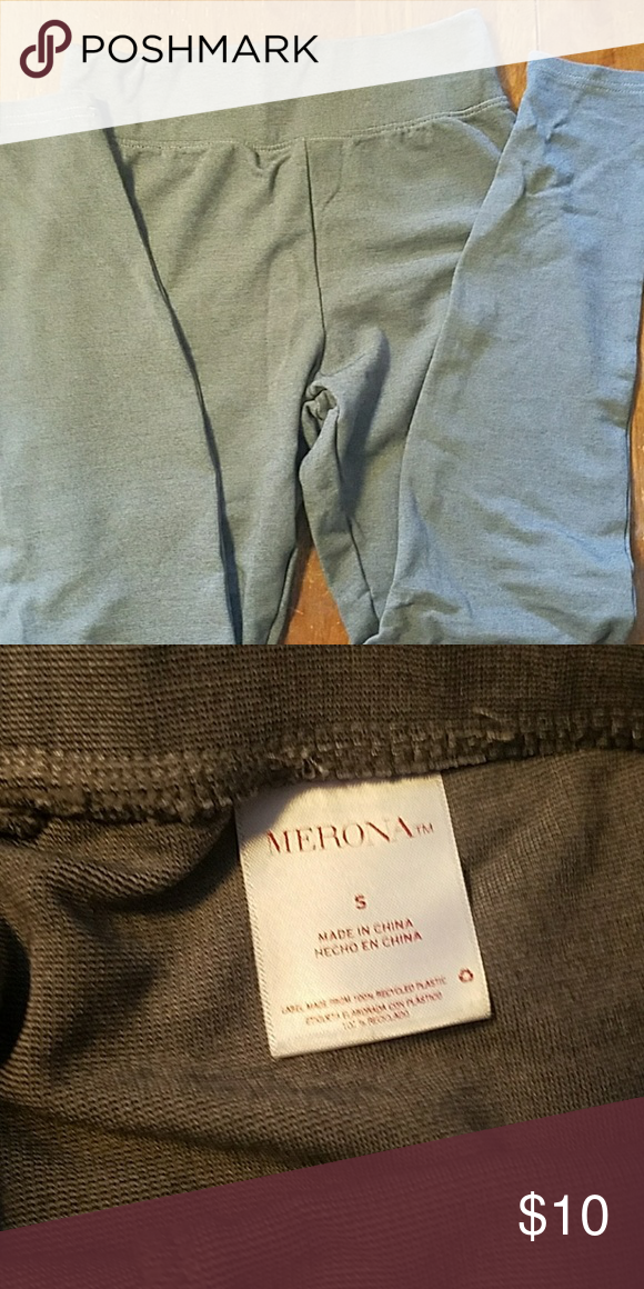 799b9c257543ca Leggings Grey stripe merona leggings size small wore once to big for me  bundle and save Pants Leggings