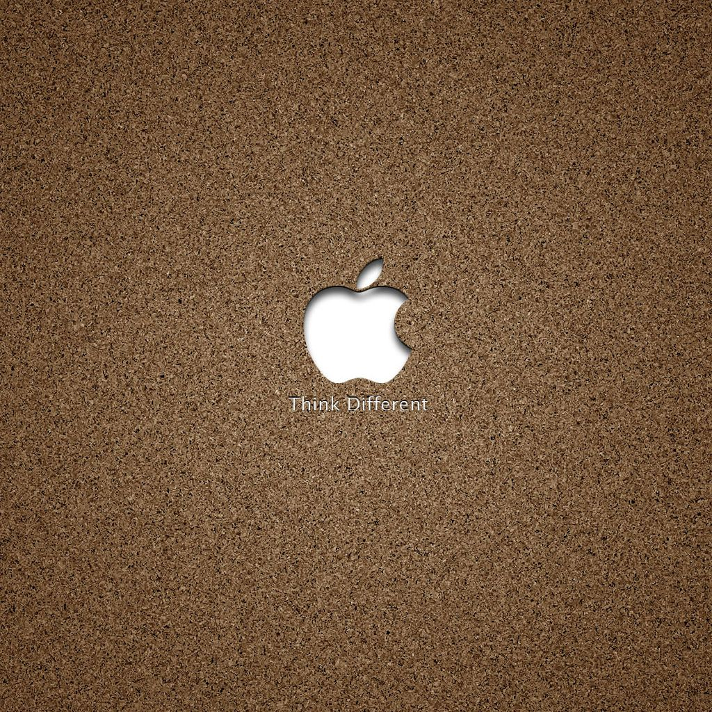 Think Different The Ipad Mini Wallpaper I Just Pinned Ipad Mini Wallpaper Apple Wallpaper Iphone Ipad Wallpaper