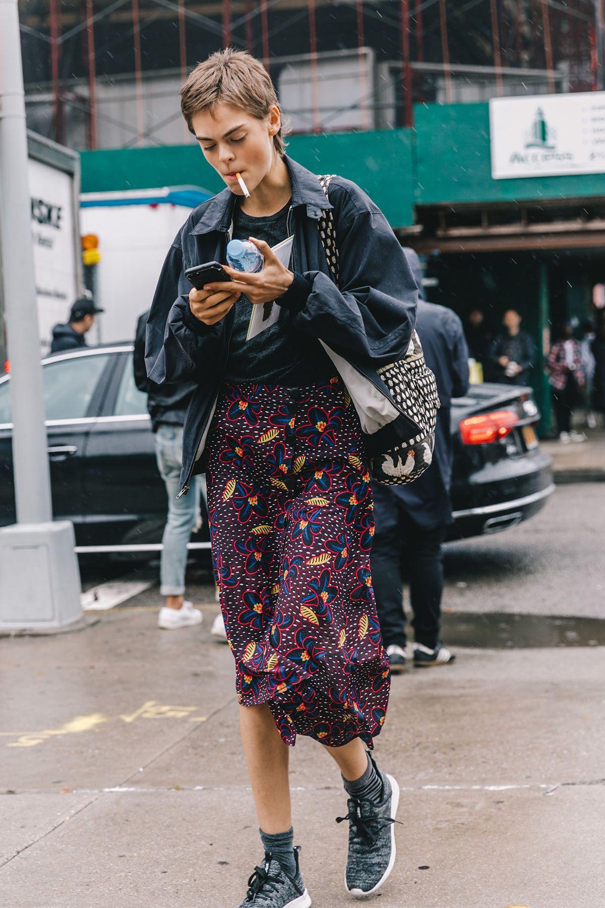 Photo of Street Style #NYFW / Dia 3 O outono nunca teve tantas peças impressas e …