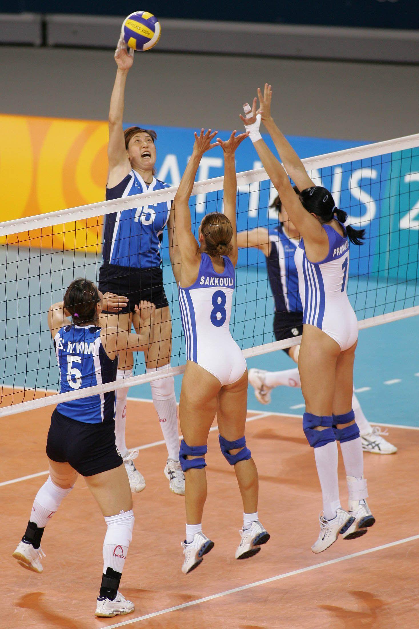 women volleyball team Greek