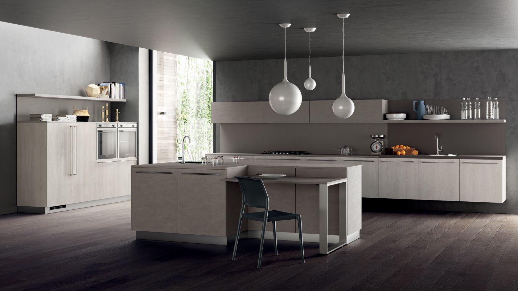 Cucina Mood Sito Ufficiale Scavolini Italian Kitchen Cabinets
