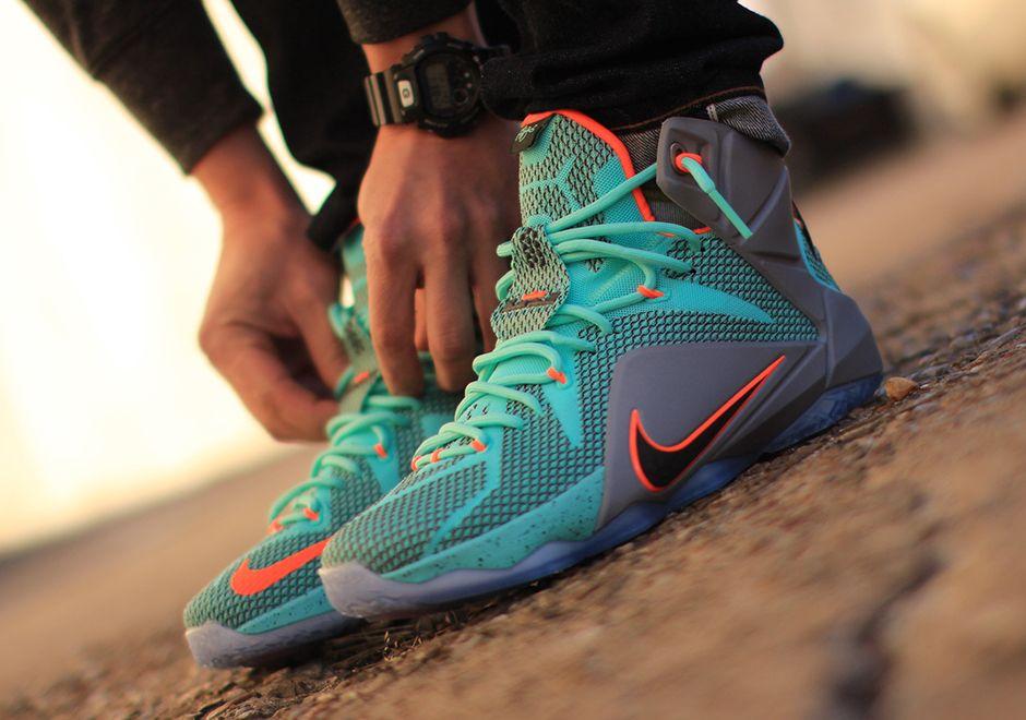 sale retailer 3231c d31bb Nike LeBron 12 NSRL Arriving at Retailers