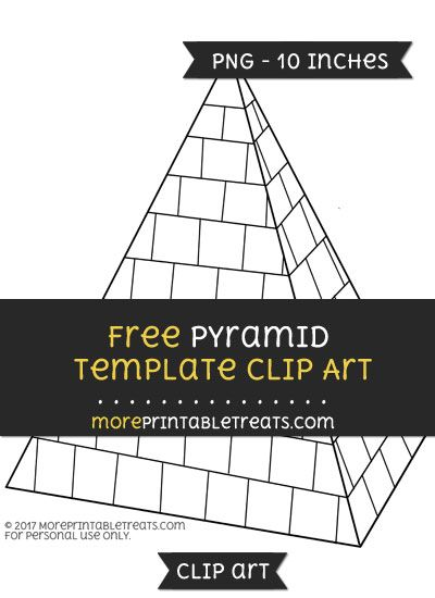 Free Pyramid Template - Clipart Free Clipart Files Pinterest - pyramid template