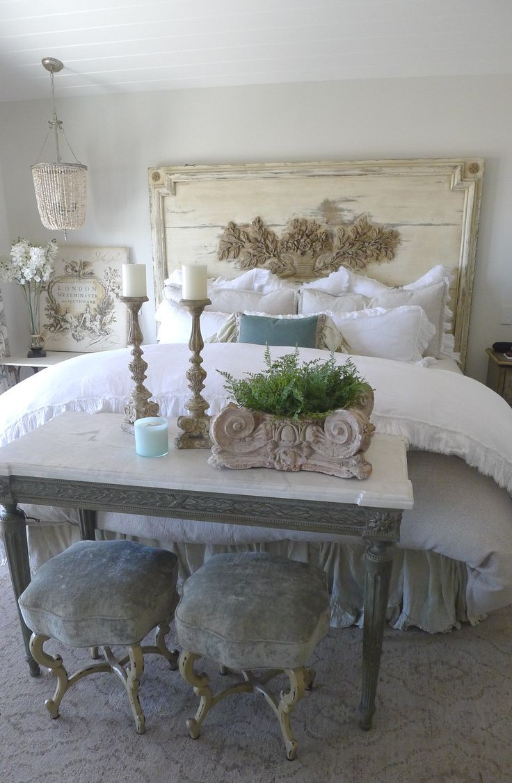 Vintage French Soul ~ French Inspired California Beach House · Bedroom  DesignsBedroom ...