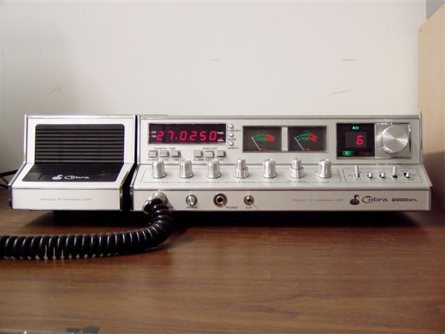 Cobra 2000 Gtl Cb Base Radio I Still Dream Of Owning One Of These In Mint Condition With 2 Speakers Preferably Made In The Philippines I Bought One In 2020 Cb Funk