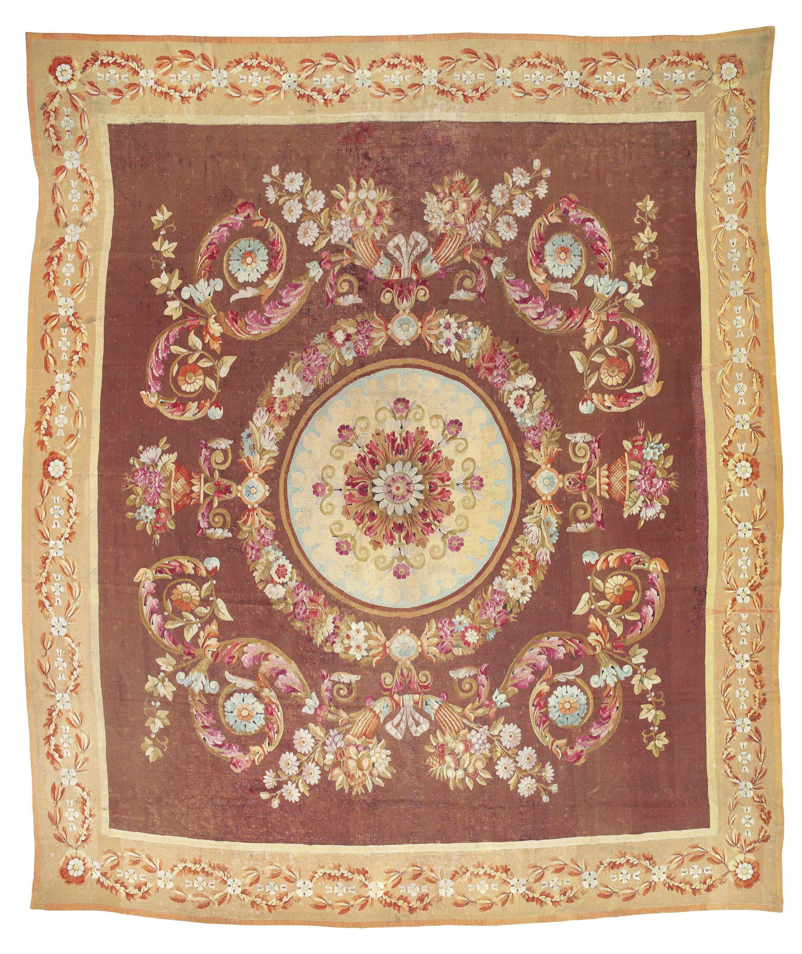 C1830 A Charles X Aubusson Carpet France Circa 1830 Price Realised Gbp 3 750 France Charles Carpet