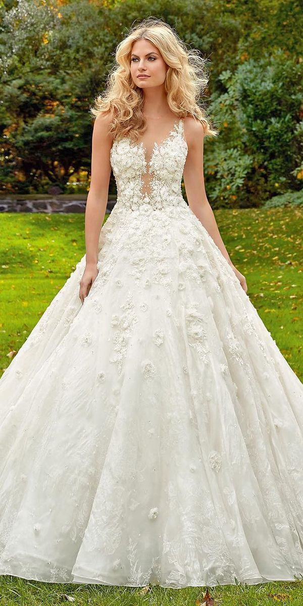 Collections From Top Wedding Dress Designers ❤ See more: http ...